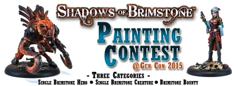 Brimstone Painting Contest at Gen Con 2015